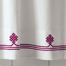 Berry Gobi Shower Curtain