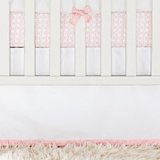 Nursery Basics Crib Skirt – Shell