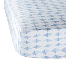 Aqua Kite Crib Sheet