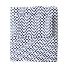 Cut Circle Sheet Set - Navy