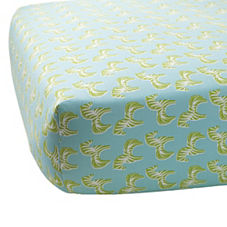 Zebra Crib Sheet – Lime