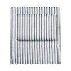 Ticking Stripe Sheet Set – Denim