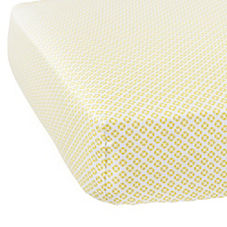 Cut Circles Crib Sheet – Citrine