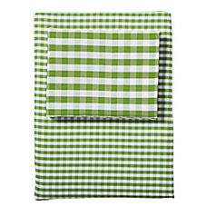 Gingham Sheet Set – Grass