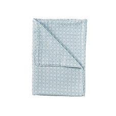 Trellis Stroller Blanket – Aqua