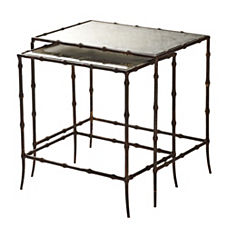 Mirrored Nesting Tables – Set of 2