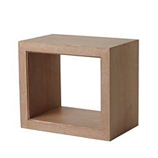 Atelier Side Table - Cerused Oak