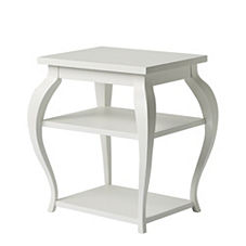 Vera Side Table - White