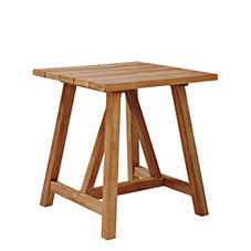 Crosby Teak Side Table