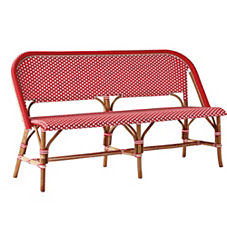 Riviera Bench – Poppy