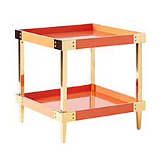 Savile Side Table – Persimmon