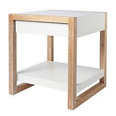 Lark Side Table – White