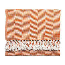 Brahams Mount Herringbone Throw – Autumn