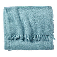 Mohair Throw – Seaglass