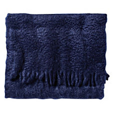Midnight Mohair Throw