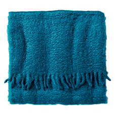 Peacock Mohair Throw