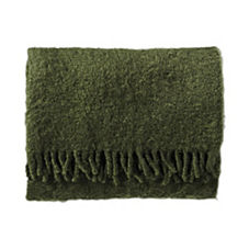Mohair Throw – Moss