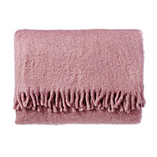 Mohair Throw – Amethyst