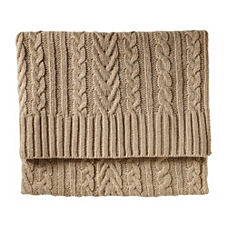 Telluride Throw – Camel