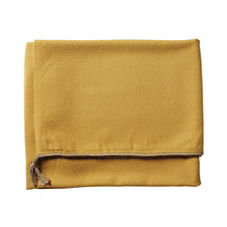 Braided Edge Throw – Mustard