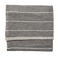 Heathered Knit Throw – Grey