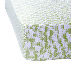 Trellis Crib Sheet– Grass