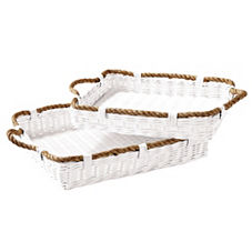 Rope Trays – Set of 2