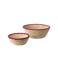 Nantucket Bowls – Fuchsia (Set of 2)