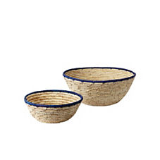 Nantucket Bowls – Navy (Set of 2)