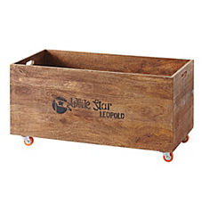 Rolling Storage Crates – Natural