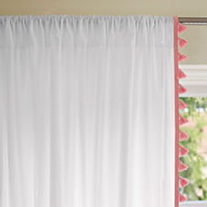 French Tassel Window Panel – Punch