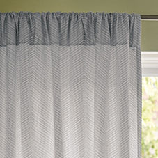 Fog Chevron Window Panel