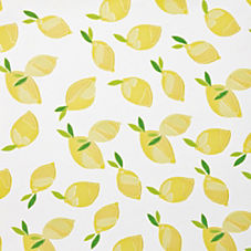 Lemons Wallpaper – White