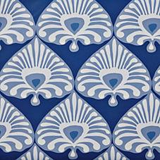 Palmetto Wallpaper – Cobalt/Periwinkle