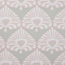 Palmetto Wallpaper – Stone/Blush