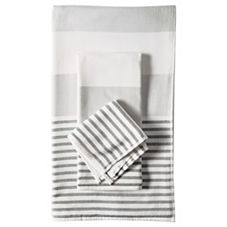 Fouta Bath Towels - Dove Grey
