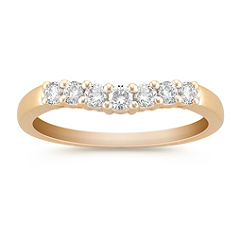 Contour Diamond Anniversary Band