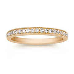 Pave Set Diamond Anniversary Band
