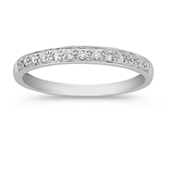 Classic Diamond Wedding Band