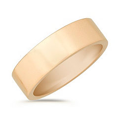 14k Yellow Gold Wedding Band (7mm)