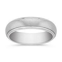 Brushed Titanium Ring (6mm)