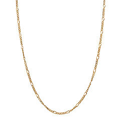14k Yellow Gold Figaro Chain (20 in.)