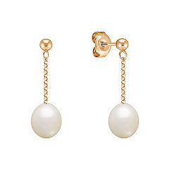 7mm Cultured Freshwater Pearl Earrings