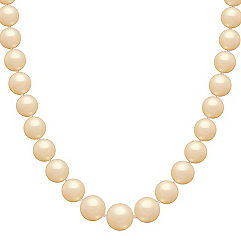 13mm Cultured Gold South Sea Pearl Strand (18 in.)