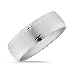 Platinum Wedding Ring (7mm)