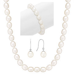 Bridal Party Gifts: Pearl Sets
