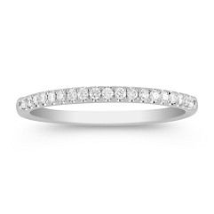 Classic Diamond Anniversary Band