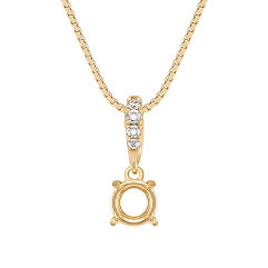 Round Diamond Pendant (18)