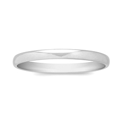 Platinum Wedding Band (2mm)