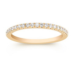 Pave Set Classic Diamond Anniversary Band